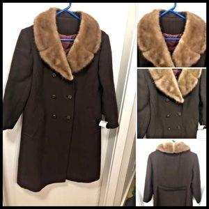 Vintage Winter Coat L